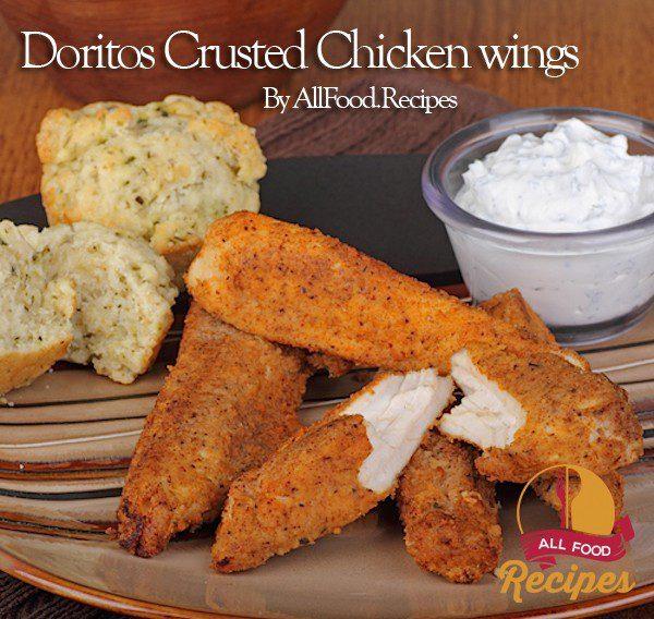 Doritos Crusted Chicken wings