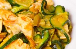 Easy Chicken Zucchini Saute