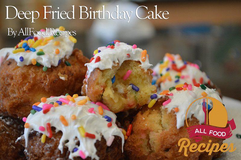 Deep Fried Birthday Cake