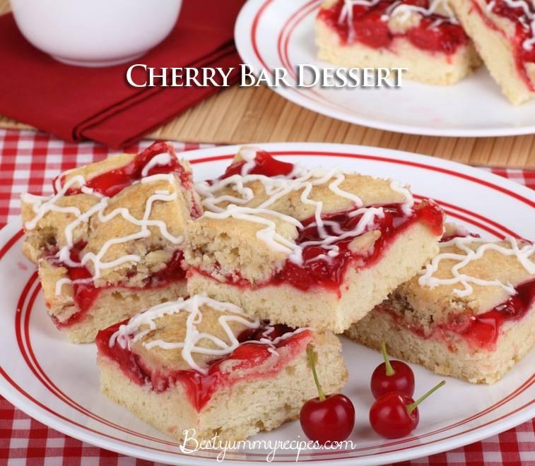 Cherry Bar Dessert
