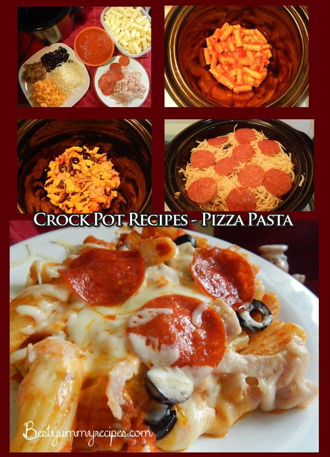Crock Pot Recipes Pizza Pasta