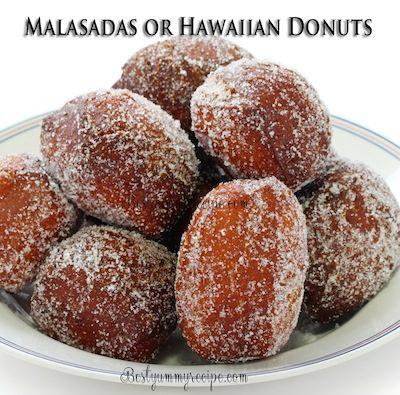 Malasadas or Hawaiian Donuts