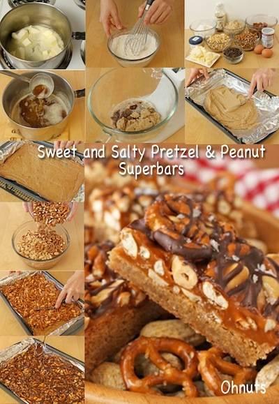 Sweet and Salty Pretzel & Peanut Superbars