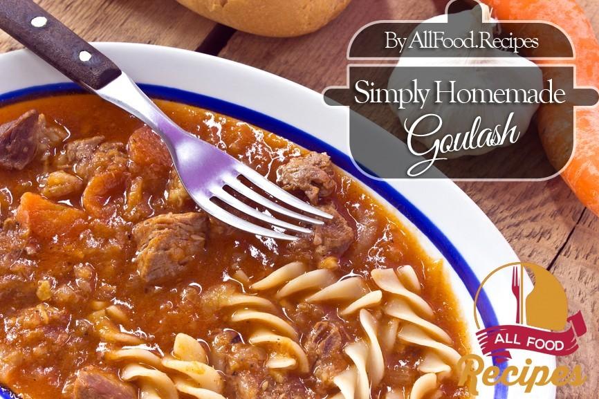 How to make Simple Homemade Goulash