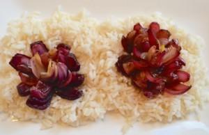 Balsamic Onion Flower